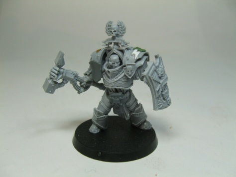 wip pic of Captain Darnath Librarian