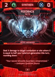 Synthien Card_Feedback_NEW_Screen Demo