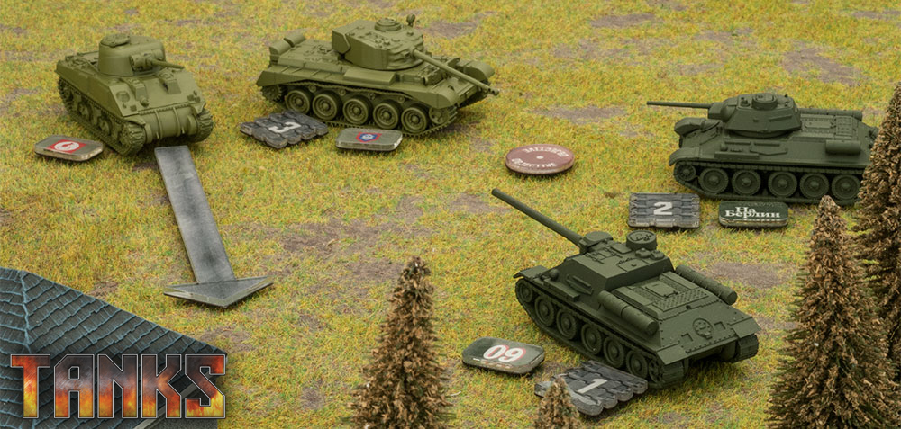 Tanks By Gf9 Table Top Games Uk