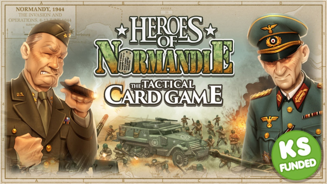 Heroes of Normandie: Card Game