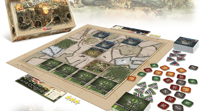 Heroes of Normandie: Tactical Card Game – The Rules