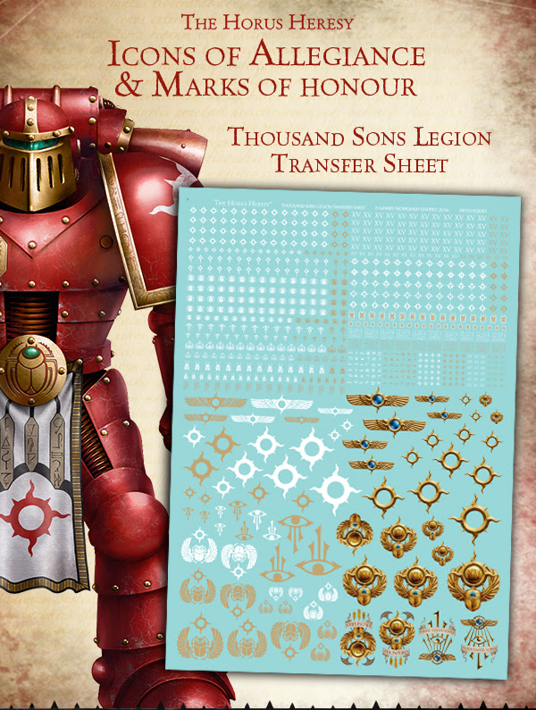 Forge World Thousand Sons Transfers