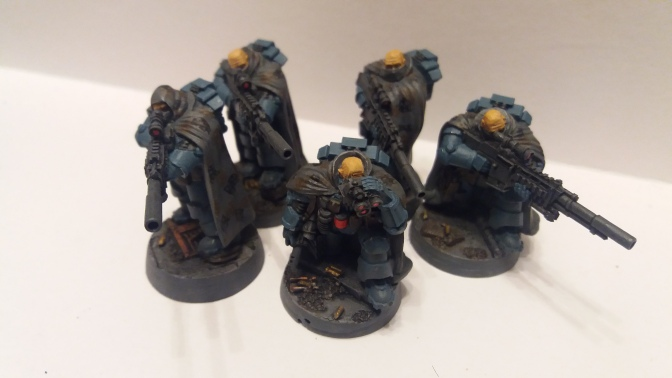 Sunday Colour: Space Marines