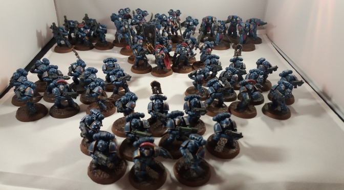 Sunday Colour: Night Lords on Parade