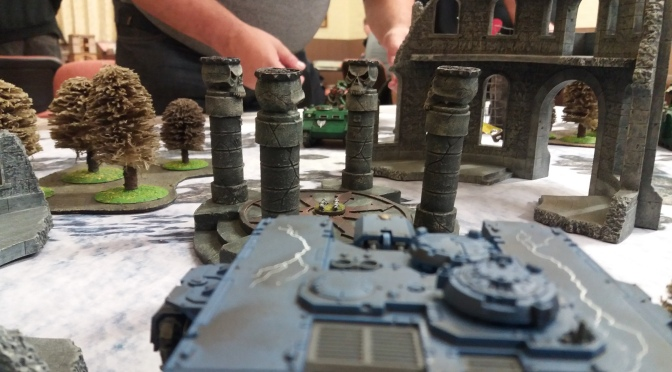 Learning Curve 40K first game report
