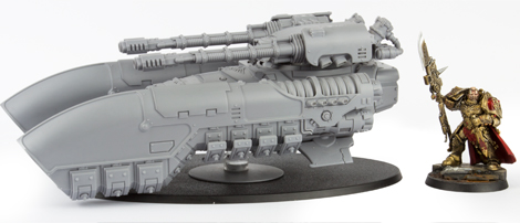 Custodes Caladius Grav-Tank