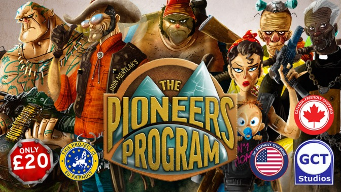 Pioneers Program live on Kickstarter