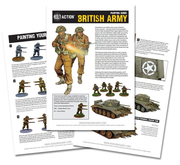 Bolt Action Painting Guides