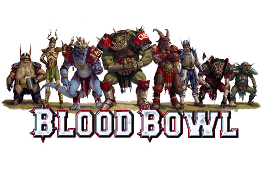 Blood Bowl Games Workshop Winter Pitch details on Twitter.