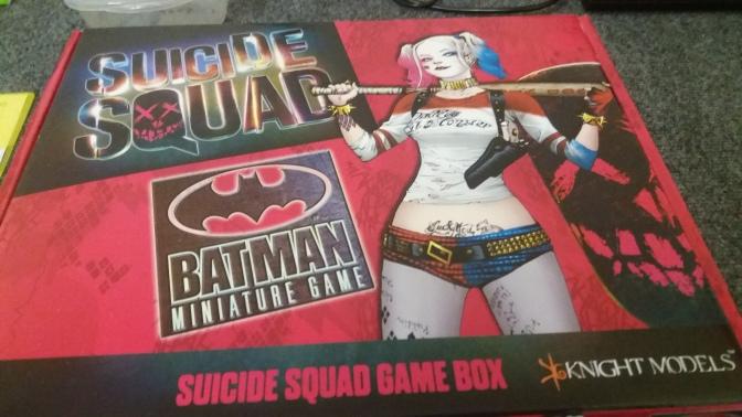 Suicide Squad Unboxing!