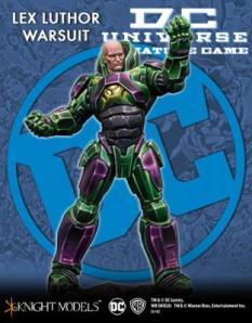DC Universe Miniature Game Lex Luthor Warsuit