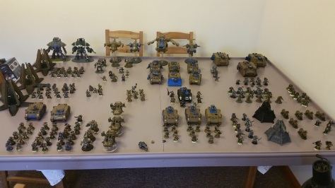 space-marine-40k-army
