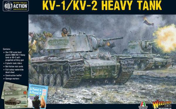 KV 1/KV 2 Boxset for Bolt action.